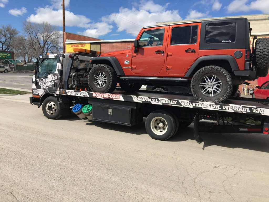 flat bed tow truck salt lake city