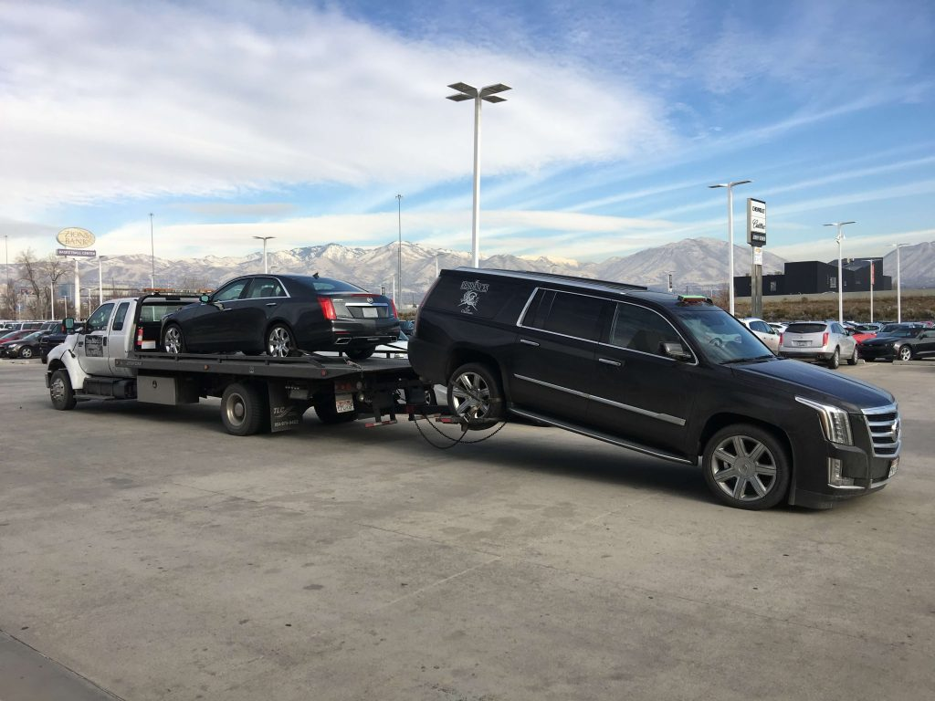 hook train tow truck salt lake city