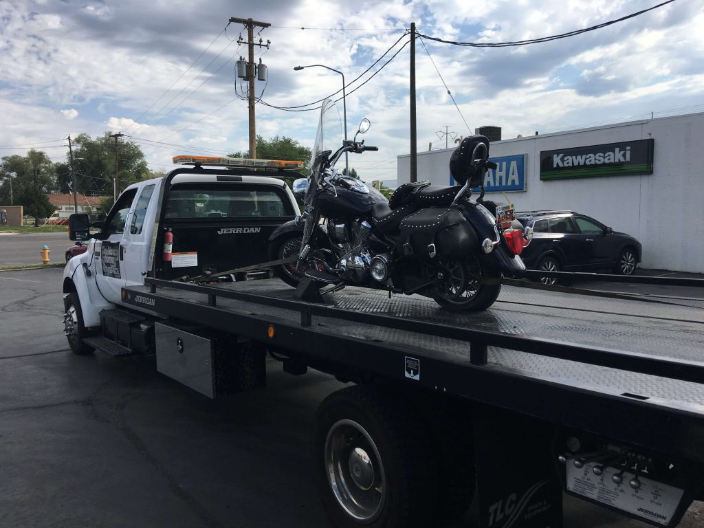 motor cycle towing salt lake city utah